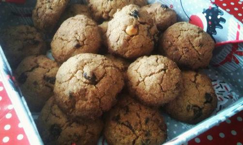 Przepis na fit ciasteczka z bakaliami