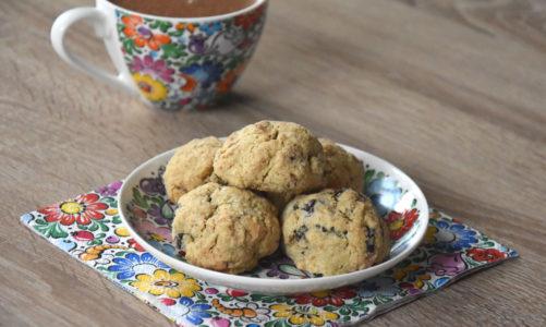 Przepis na ciasteczka zbożowe z bakaliami
